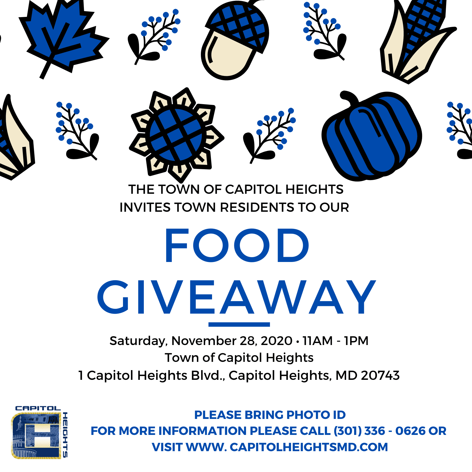 Town Food Giveaway Flyer (1)