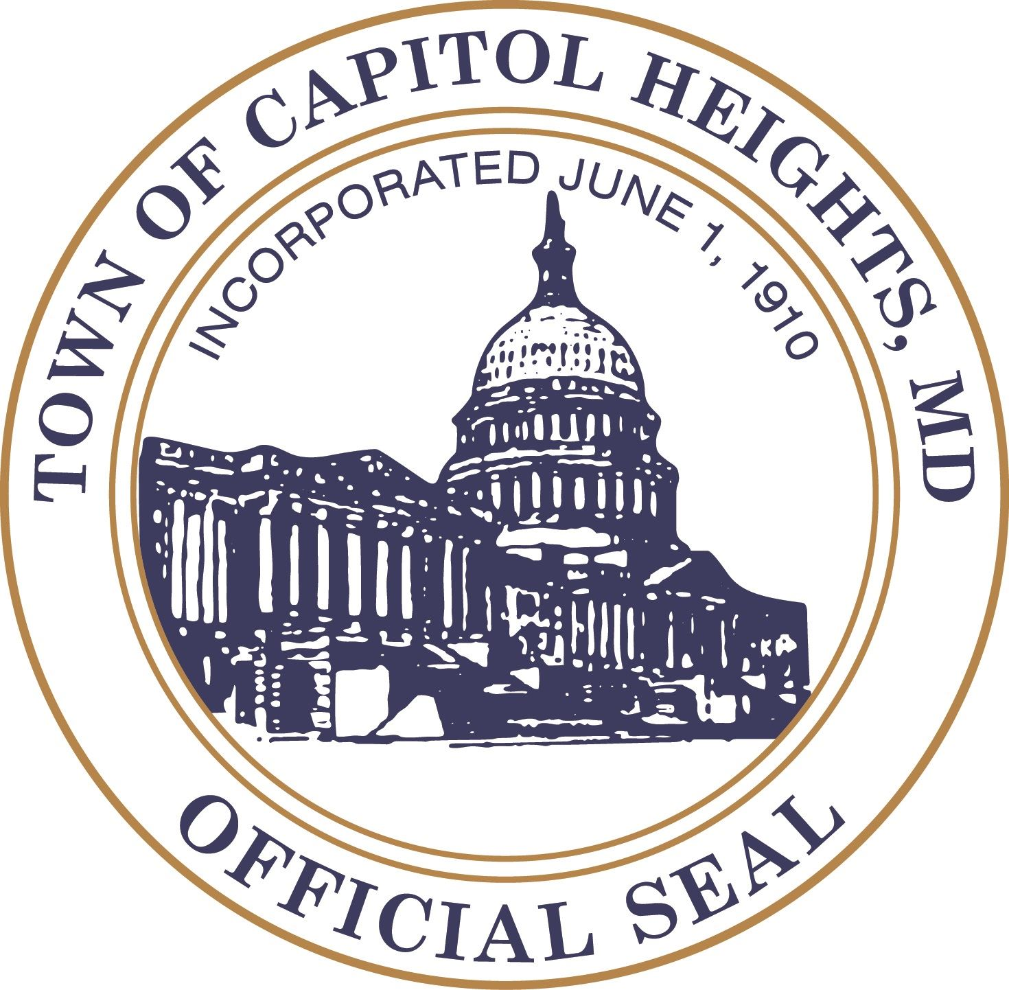 Capital Heights town seal
